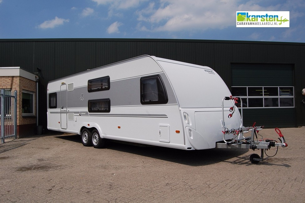 Caravan Met Stapelbed Te Koop.Caravan Knaus Sudwind 750 Fku Karsten Caravanmakelaardij